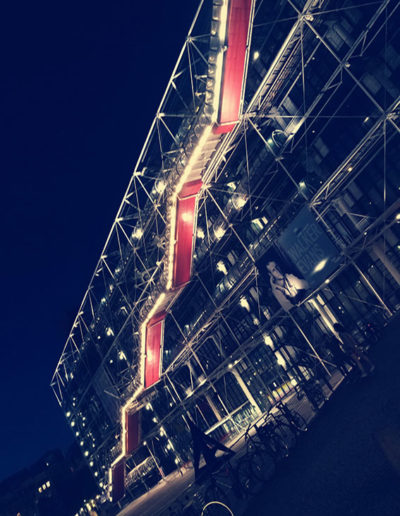 beaubourg nuit